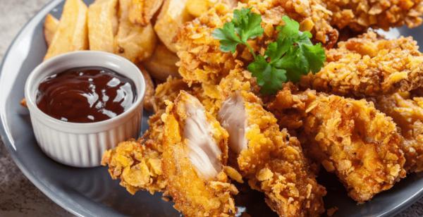 طرز تهیه مرغ سوخاری,آموزش مرغ سوخاری,تهیه مرغ سوخاری