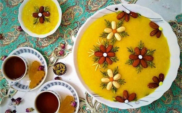 آموزش پخت شله زرد,طرز پخت شله زرد,طرز تهیه شله زرد