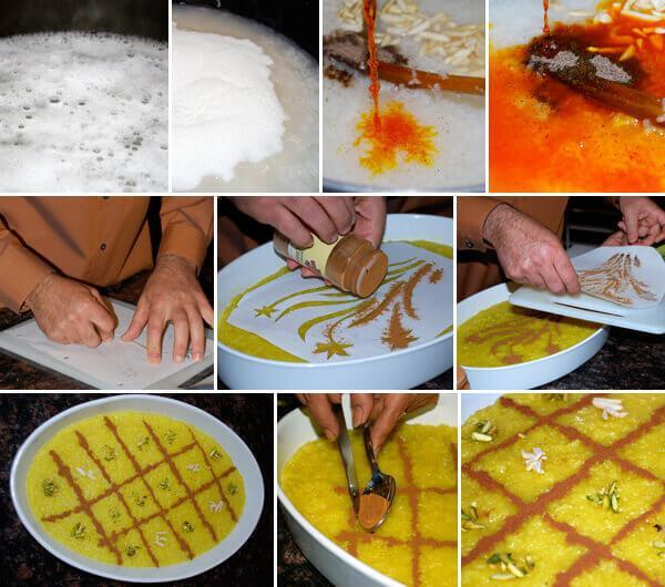 طرز درست کردن شله زرد,طرز تهیه شله زرد,نکات تهیه شله زرد