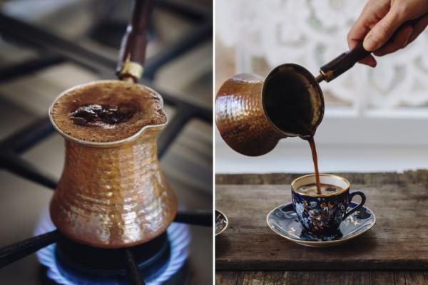 طرز تهیه قهوه اسپرسو,طرز تهیه قهوه اسپرسو با قهوه جوش,طرز تهیه قهوه