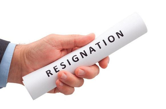 دلایل استعفا,انواع استعفا,استعفا