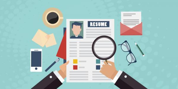 رزومه,سابقه کاری,استخدامی