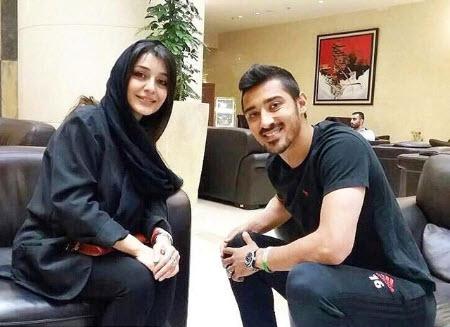 رضا قوچان نژاد,عکس رضا قوچان نژاد,ساره بیات