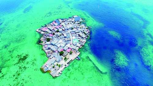 جزیره سانتا کروز,مجمع الجزایر سان برناردو,جزایر کلمبیا