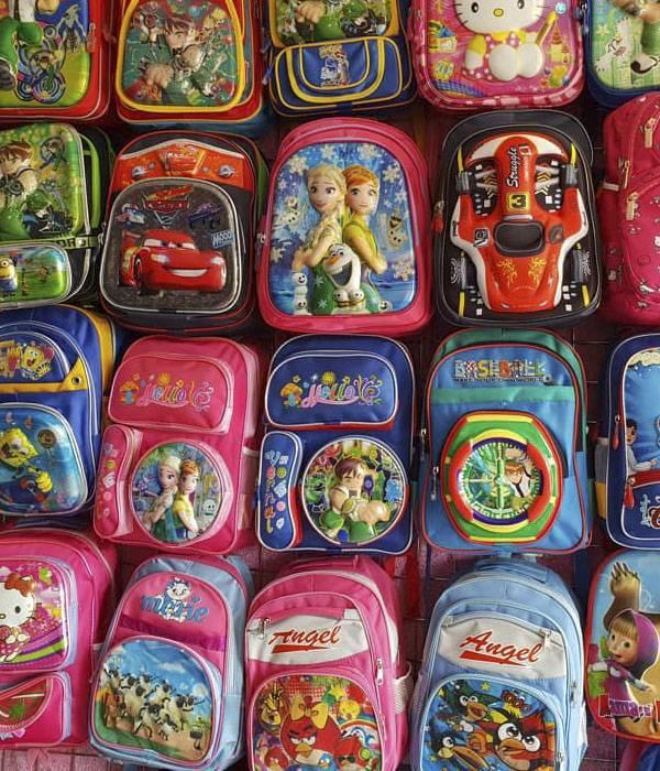 کیف مدرسه,مدل کیف مدرسه,عکس کیف مدرسه ای دخترانه