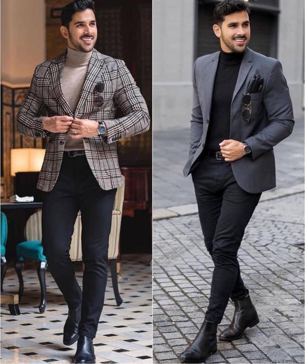 ست کردن لباس مردانه اسپرت,ست کردن لباس مردانه در زمستان,ست کردن لباس مردانه