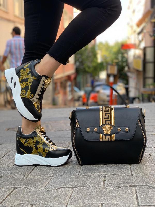 کیف و کفش ست,کیف و کفش ست زنانه,انواع کیف و کفش ست