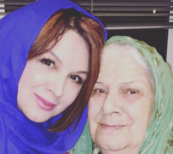شهره سلطانی و مادرش,عکس مادر شهره سلطانی,عکسهای شهره سلطانی