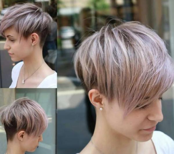 انواع مدل مو کوتاه,مدل مو کوتاه,مدل مو کوتاه فشن دخترانه