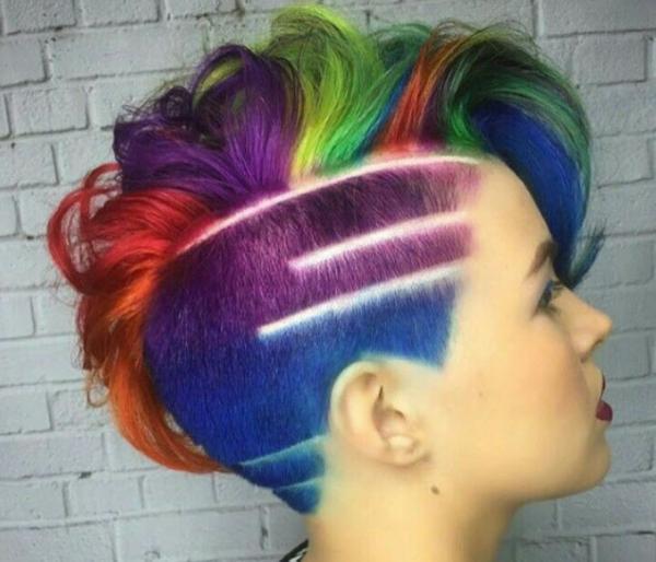 مدل مو کوتاه,مدل مو کوتاه برای موهای حالت دار,انواع مدل مو کوتاه دخترانه