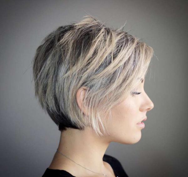 مدل مو کوتاه فر,مدل مو کوتاه,مدل مو کوتاه برای موهای حالت دار