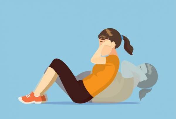ورزش دراز و نشست,روش صحیح دراز و نشست,دراز و نشست