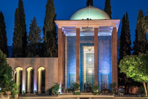جاهای دیدنی شیراز و آرامگاه های مشاهیر,جاهای دیدنی شیراز و آرامگاه سعدی,جاهای دیدنی شیراز