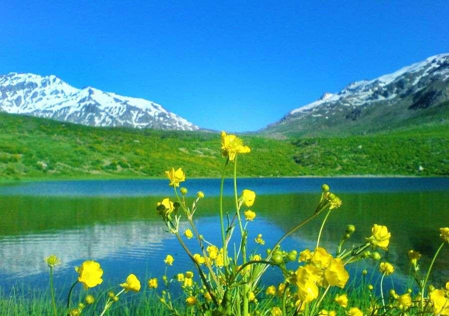 شهر سی سخت,گردشگری یاسوج,دامنه کوه دنا