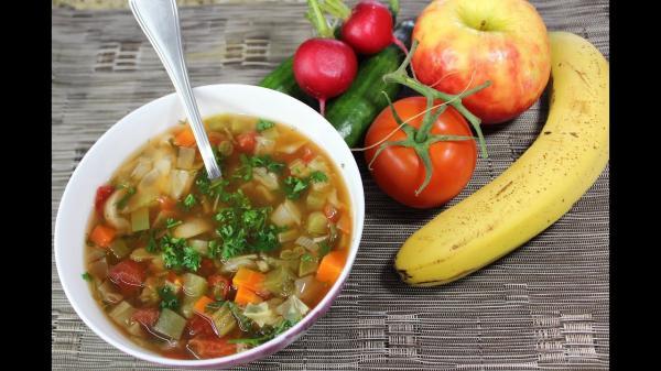 رژیم سوپ,نمونه ای از رژیم سوپ کلم,مزایای رژیم سوپ