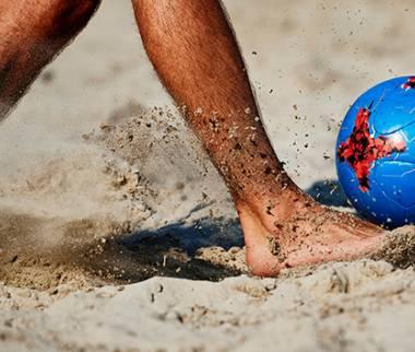 فوتبال ساحلی,قوانین فوتبال ساحلی,زمین فوتبال ساحلی