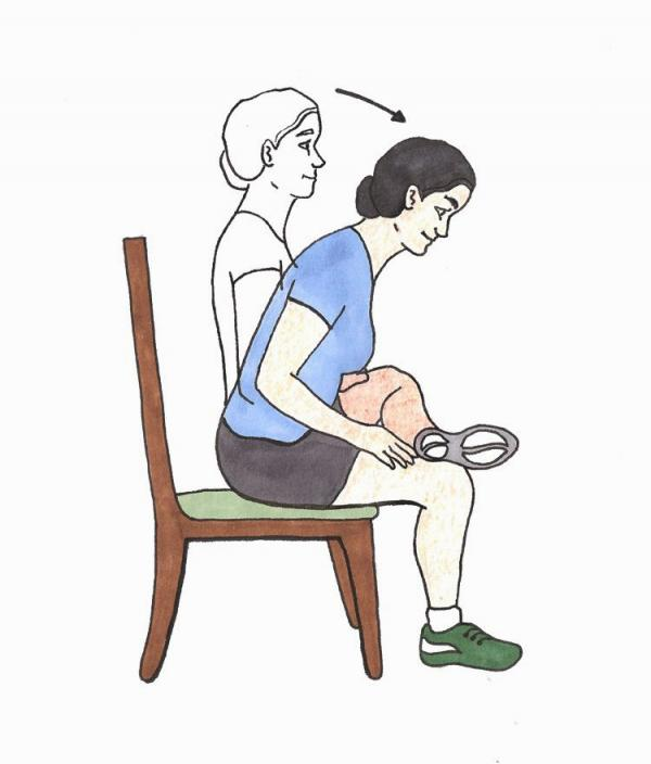 کمر درد سیاتیک درمان,علل و درمان درد سیاتیک,ورزش برای درد سیاتیک