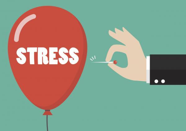 استرس,درمان استرس,کاهش استرس