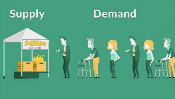 مازاد عرضه چیست,قانون عرضه و تقاضا,عوامل موثر بر عرضه و تقاضا