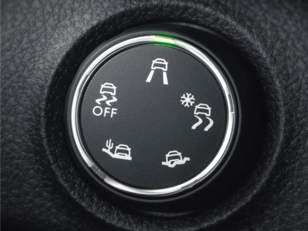 سیستم کنترل کشش, امکانات سیستم کنترل کشش, GRIP CONTROL, عملکردهای سیستم کنترل کشش, سیستم ESPگیربکس خودرو