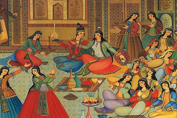 سوغات تبریز,نگارگری تبریز,صنایع دستی تبریز