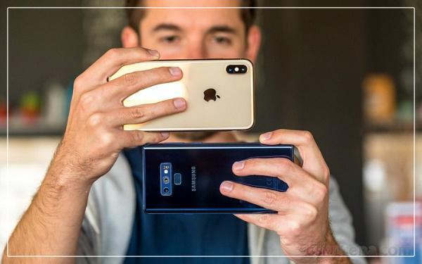 رونمایی گوشیهای پرچمدار اپل و سامسونگ,خصوصیاتiPhone XS Max,خصوصیاتGalaxy Note 9