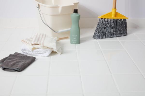 تمیز کردن کاشی آشپزخانه,تمیز کردن کاشی,راههای تمیز کردن کاشی