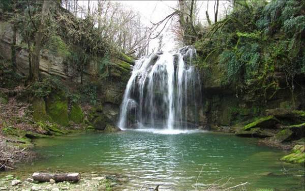 آبشار ایج,جاهای دیدنی رامسر,جاذبه های گردشگری رامسر