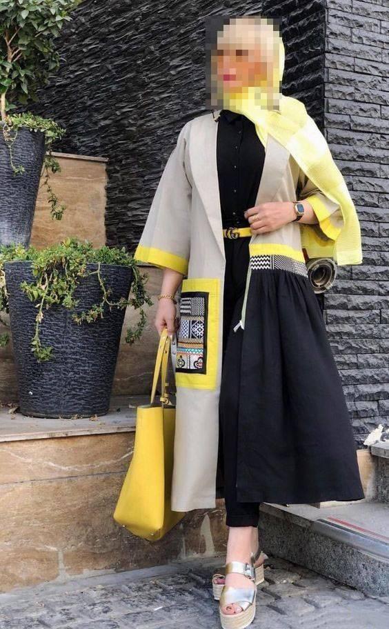 مانتو سنتی ایرانی,مدل مانتو سنتی با ترمه,مانتو سنتی,جدیدترین مدل مانتو سنتی