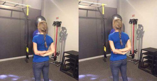 عکس درمان افتادگی شانه با ورزش,بهترین راه درمان افتادگی شانه با ورزش,درمان افتادگی شانه با ورزش