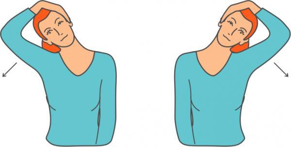 درمان گردن درد با ورزش,راه های درمان گردن درد با ورزش,درمان گردن درد با ورزش پروانه ای