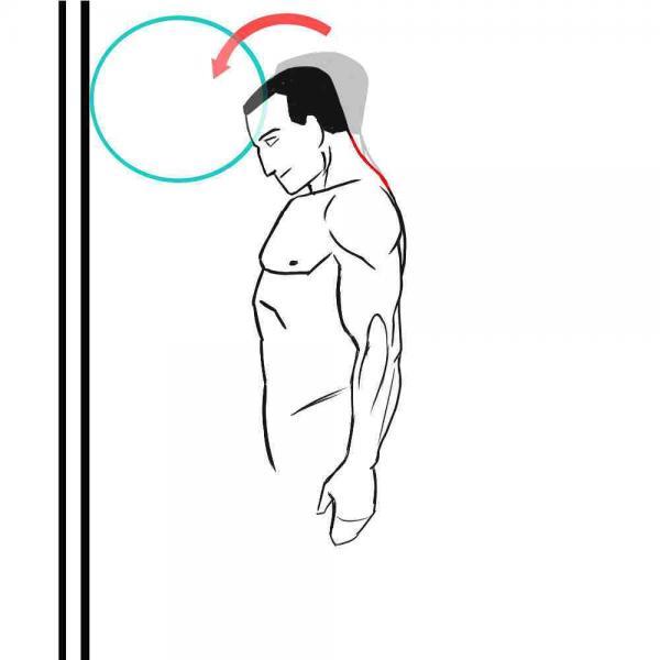 درمان آرتروز گردن,حرکت های اصلاحی برای درمان آرتروز گردن,نرمش برای آرتروز گردن