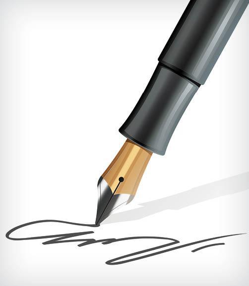 اهمیت امضای افراد,ویژگی های امضای خوب,روش های جعل امضا