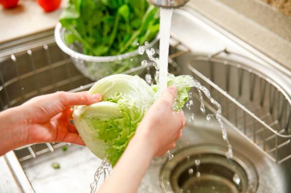 شستن میوه و سبزیجات,علت شستن میوه و سبزیجات,ضدعفونی کردن سبزیجات
