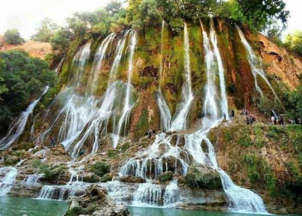 آبشارهای لرستان,جاذبه های گردشگری لرستان,آبشار شوی