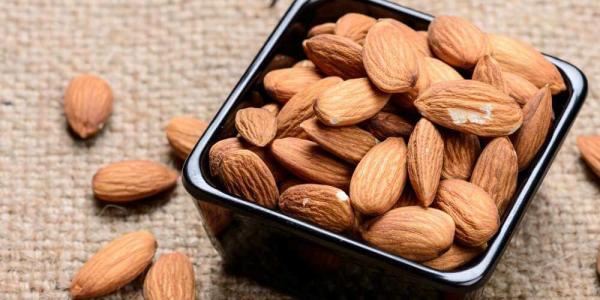 راههای افزایش وزن,مصرف بادام برای افزایش وزن,پروتئین و راههای افزایش وزن