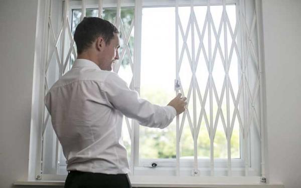 انواع حفاظ پنجره,حفاظ پنجره,حفاظ پنجره ثابت