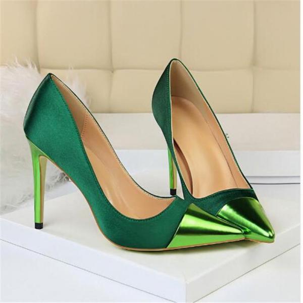 مدل کفش زنانه رنگ سبز,مدل کفش زنانه,مدل کفش مراسمی