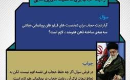 حکم حجاب شخصیتهای کارتونی,حکم حجاب شخصیتهای کارتونی از نظر رهبر انقلاب,فتوای آیت الله خامنه ای درباره حجاب شخصیتهای کارتونی