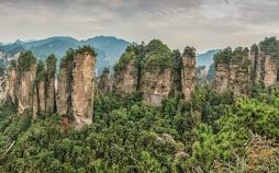 طبیعت چین,فیلم آوارتار,کوهستان تیانزی