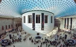 معماری موزه بریتانیا,موزه بریتانیا,اشیای مربوط به تاریخ ایران در موزه بریتانیا
