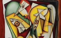 کوبیسم,نقاشی های کوبیسم,تصاویر کوبیسم