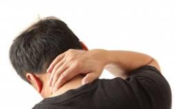 درد گردن,برطرف کردن درد گردن,حرکت کششی گردن