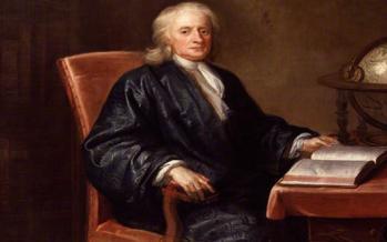 ایزاک نیوتن,نیروی جاذبه,کشف نیروی جاذبه