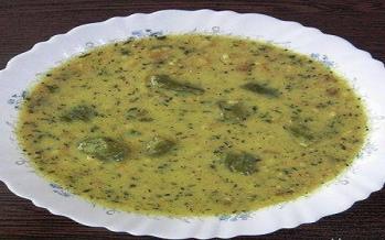 طرز تهیه آش خیار,آش سنتی خیارچنبر,آش خیارچنبر