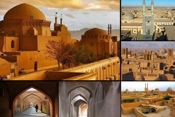 جاذبه های گردشگری یزد,شهر خشتی ایران,گردشگری یزد