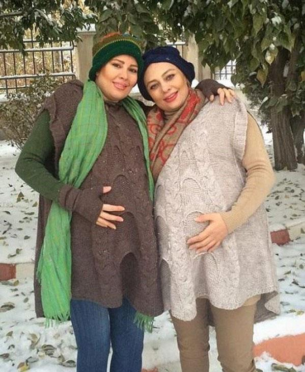 یکتا ناصر,حاملگی یکتا ناصر,دوران بارداری یکتا ناصر