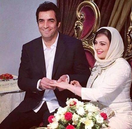 مراسم ازدواج یکتا ناصر و منوچهر هادی,یکتا ناصر و همسرش,یکتا ناصر