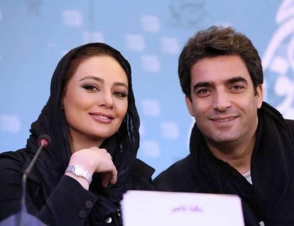 بیوگرافی منوچهر هادی,یکتا ناصر,یکتا ناصر و همسرش