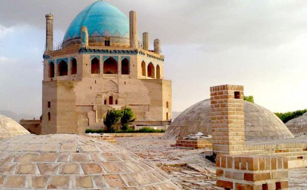 بازار زنجان,گنبد سلطانیه زنجان,زنجان